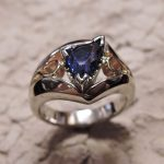 Sapphire Lady's Ring