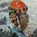 Carnelian Lady's Ring