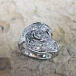 Diamond Lady's Ring