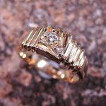 Diamond Man's Ring