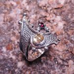 Rutilated Quartz Lady's Ring