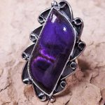 Sugilite Lady's Ring