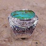 Turquoise Man's Ring