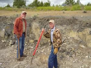 Priday Plume dig, Madras, Oregon