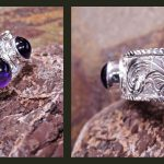 Amethyst Cuff Bracelet