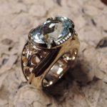 Aquamarine Lady's Ring