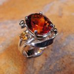 Citrine Lady's Ring