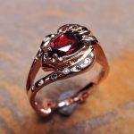 Rhodolite Garnet Lady's Ring