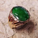 Jadeite Man's Ring
