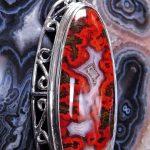 Kerrouchen Agate Pendant
