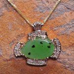 Siberian Jade Pendant