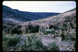 Mine camp at Bruneau Canyon, Owyhee County, Idaho, USA